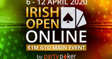 Irish Open Online на PartyPoker.